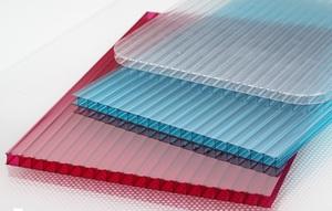 Размеры разноцветных листов поликарбоната