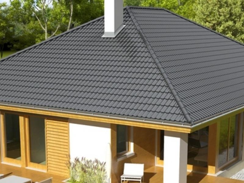 крыша 4 ската