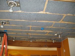 Внутренние работы с потолком