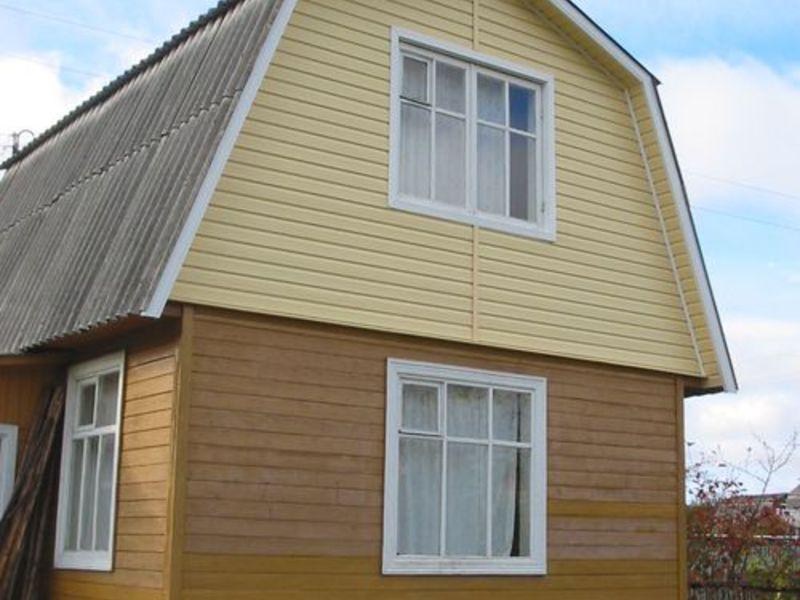 Как сделать фронтон дома