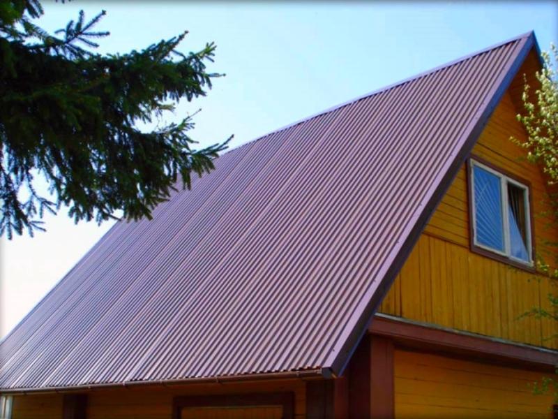 профнастил фото для крыши
