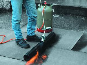Газовая горелка для кровли